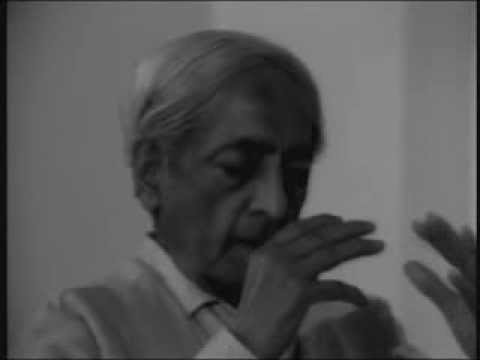 J. Krishnamurti - Brockwood Park 1981 - Conversation 2 with Pupul Jayakar - Living with death