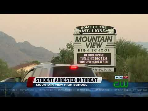 Potential threat leads to arrest of Mountain View High School student