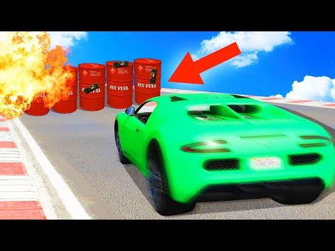 IMPOSSIBLE DODGE THE EXPLOSIVE TRAPS! (GTA 5 Funny Moments)