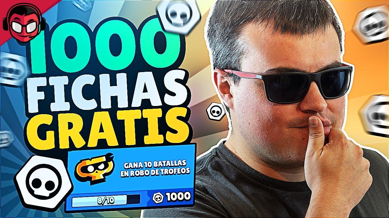 LA MISIÓN MÁS FÁCIL PARA CONSEGUIR 1.000 FICHAS | Brawl Stars