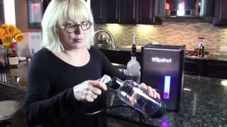 Видео   Ингалятор для алкогольных напитков   Видеоролики на Sibnet