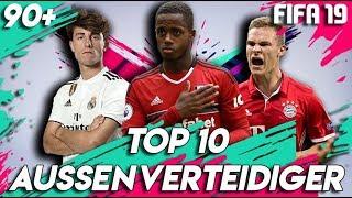 FIFA 19: TOP 10 AUSSENVERTEIDIGER TALENTE !! 🔥 | Karrieremodus 90+
