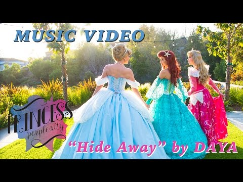 'Hide Away' by Daya - Disney Princess Lip Sync Music Video