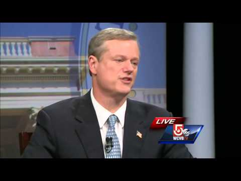 Emotional Charlie Baker describes meeting local fisherman