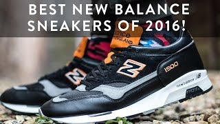 Best new balance sneakers of 2016! | unboxing | the new collections | llomotes