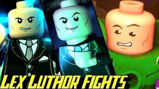 Evolution of Lex Luthor Battles in LEGO Batman Games (2008-2017)