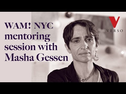 WAM!NYC Mentoring Session with Masha Gessen