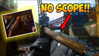 Using Every Sniper in Call of Duty WWII with Iron Sights in ONE Game!