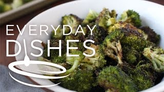 Roasted Balsamic Broccoli