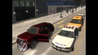 GTA IV Low End Patch 2013 Gameplay footage