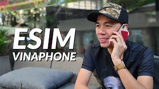 Dùng thử eSim Vinaphone trên iPhone XS Max