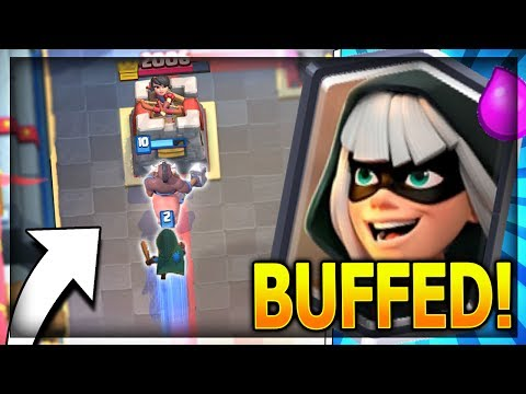 BANDIT BUFF is INSANE!! TOP 3 BANDIT DECKS after Update! Clash Royale Strategy
