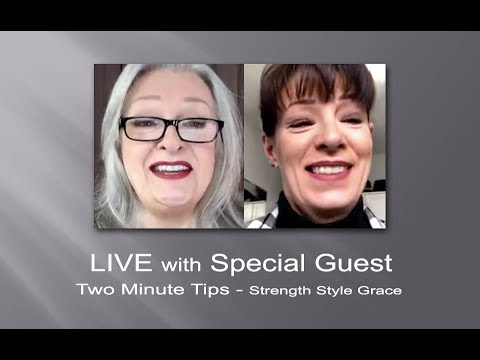 LIVE - Makeup/Hair, Shoes, Mental Health, Gray Hair, Wardrobe, Attentive Listening & More