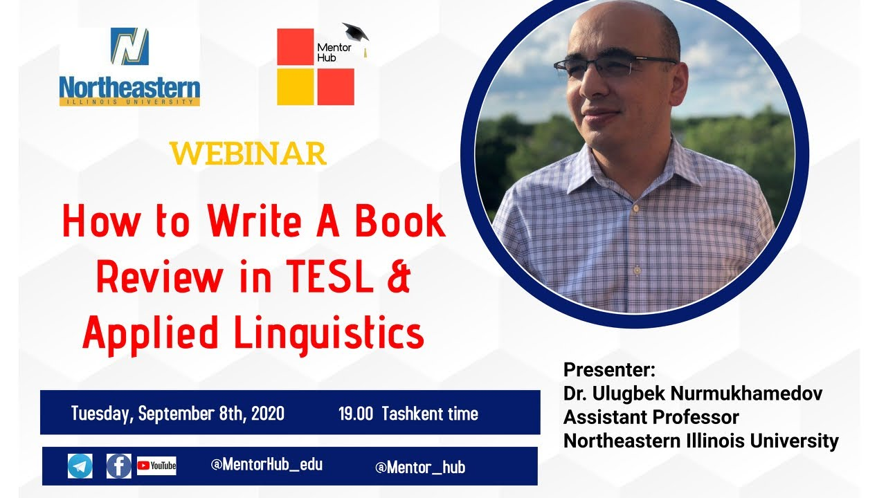 How to write a book review in TESL and Applied Linguistics