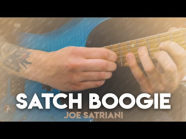 SATCH BOOGIE - JOE SATRIANI (Guitar & Drum Cover)