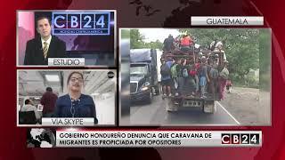 Crece caravana de migrantes hondureños rumbo a EE.UU.