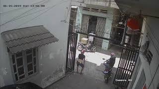 Băng trộm xe tại tổ 35 khu phố bình đường 1, an bình