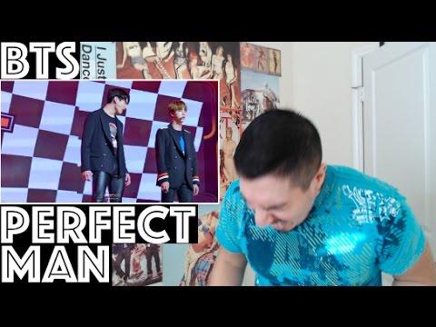 BTS PERFECT MAN PERFORMANCE REACTION