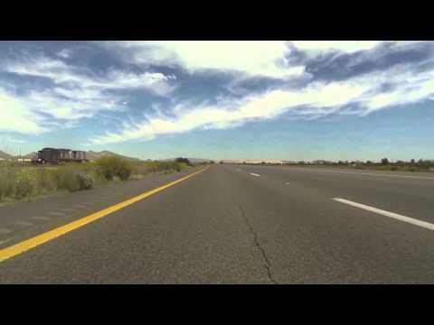 Ajo to Avondale, Arizona, 26 March 2015, AZ SR 85 North to I-10 East