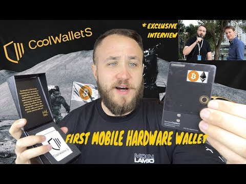 The World's First Mobile Cryptocurrency Hardware Wallet For Bitcoin, Ethereum, And MORE