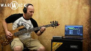 "BASS TRACK RECORDING with the Warwick ""GNOME i"" - Demo"