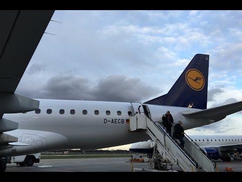 Lufthansa Cityline | Embraer E190 | FRA-LCY | Business