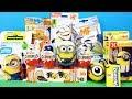 ГАДКИЙ Я 3 Mix СЮРПРИЗЫ МИНЬОНЫ игрушки по мультику Despicable Me 3 Kinder Surprise Eggs Unboxing mp3
