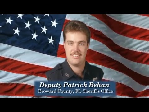 Deputy Patrick Behan (Broward County Florida Sheriff's Office)