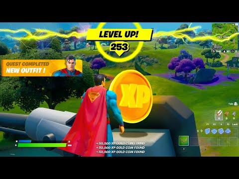 Download HOW TO LEVEL UP FAST IN FORTNITE SEASON 7 XP COIN LOCATIONS, XP GLITCHES, LEVEL 100