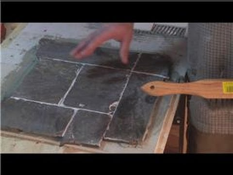 Cleaning Tile : How to Polish Slate Tiles - YouTube