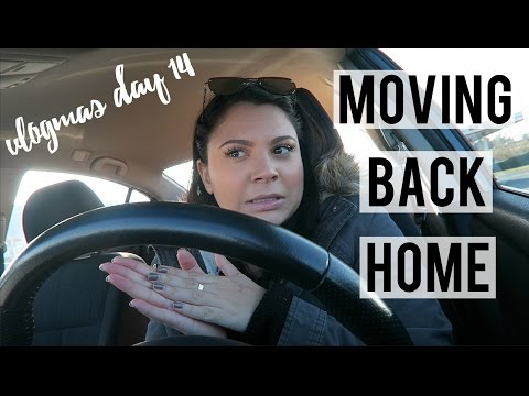 VLOGMAS DAY 14 | Moving Back In With My Parents