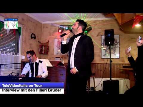 TeleVideoitalia on Tour mit den Filieri Brüder Live Interview