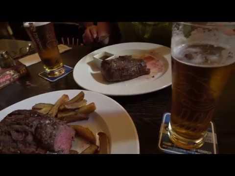 Лучшие пивные в Праге. Ресторан Jama Steak House в Праге ( Яма )
