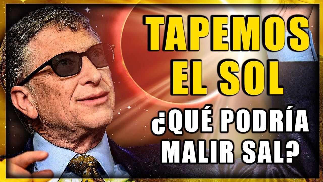 """☀️ Bill Gates Quiere TAPAR EL SOL como el Sr. Burns  ▶ Geoingeniería climática: """"control del sol"""""""