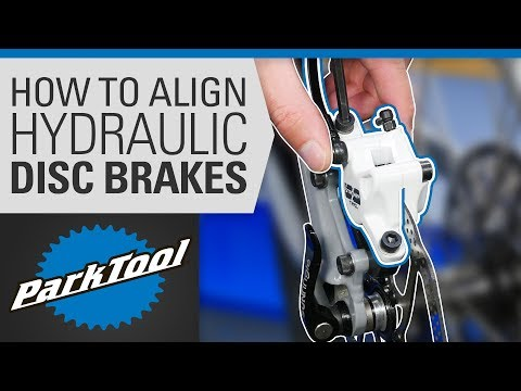 How to Align a Hydraulic Disc Brake on a Bike