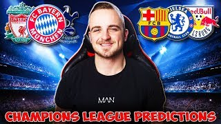 My Champions League 201920 MATCHDAYGAMEWEEK 6 PREDICTIONS