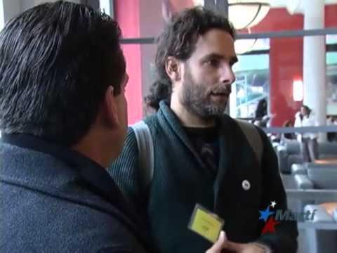 TV Martí Noticias — Yoani Sánchez y Orlando Luis Pardo Lazo en Nueva York