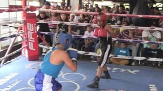 Bellic-Gym-Pancho Rosales   Noel vs Diego