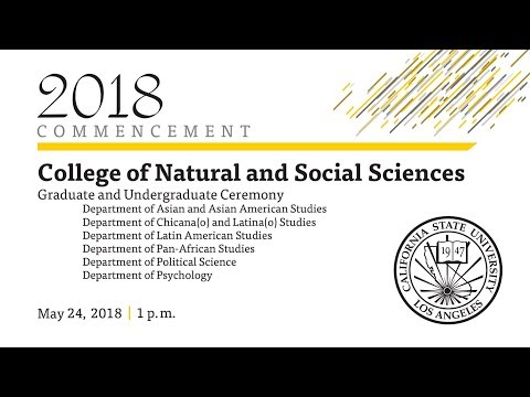 College of Natural and Social Sciences Graduate and Undergraduate Ceremony