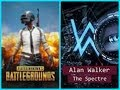 ALAN WALKER SPECTRE - PUBG MIX MUSIC VIDEO