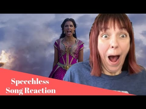 """Speechless From """"Aladdin"""" - Song Reaction & Review"""