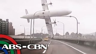 TV Patrol: Plane crash sa Taiwan nakunan ng video