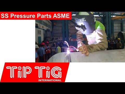TiP TiG the new manual Unit on SS pressure parts
