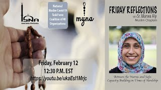 Friday reflections with Sr Marwa Aly