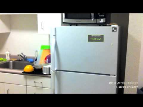 Augmented Reality Energy Display for the Kitchen