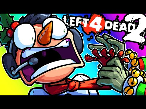 Left 4 Dead 2 Funny Moments - Christmas Map Without the Snow!