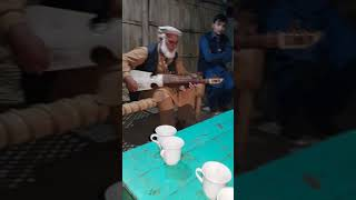 Rabab instrument pashto folk music by old bab from Peshawar