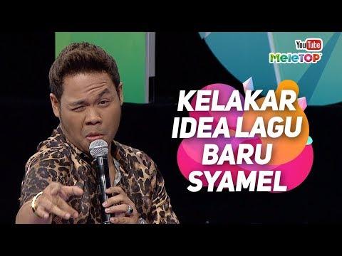 Kelakar idea lagu baru Syamel Kau Pun Sama   | MeleTOP | Nabil & Neelofa