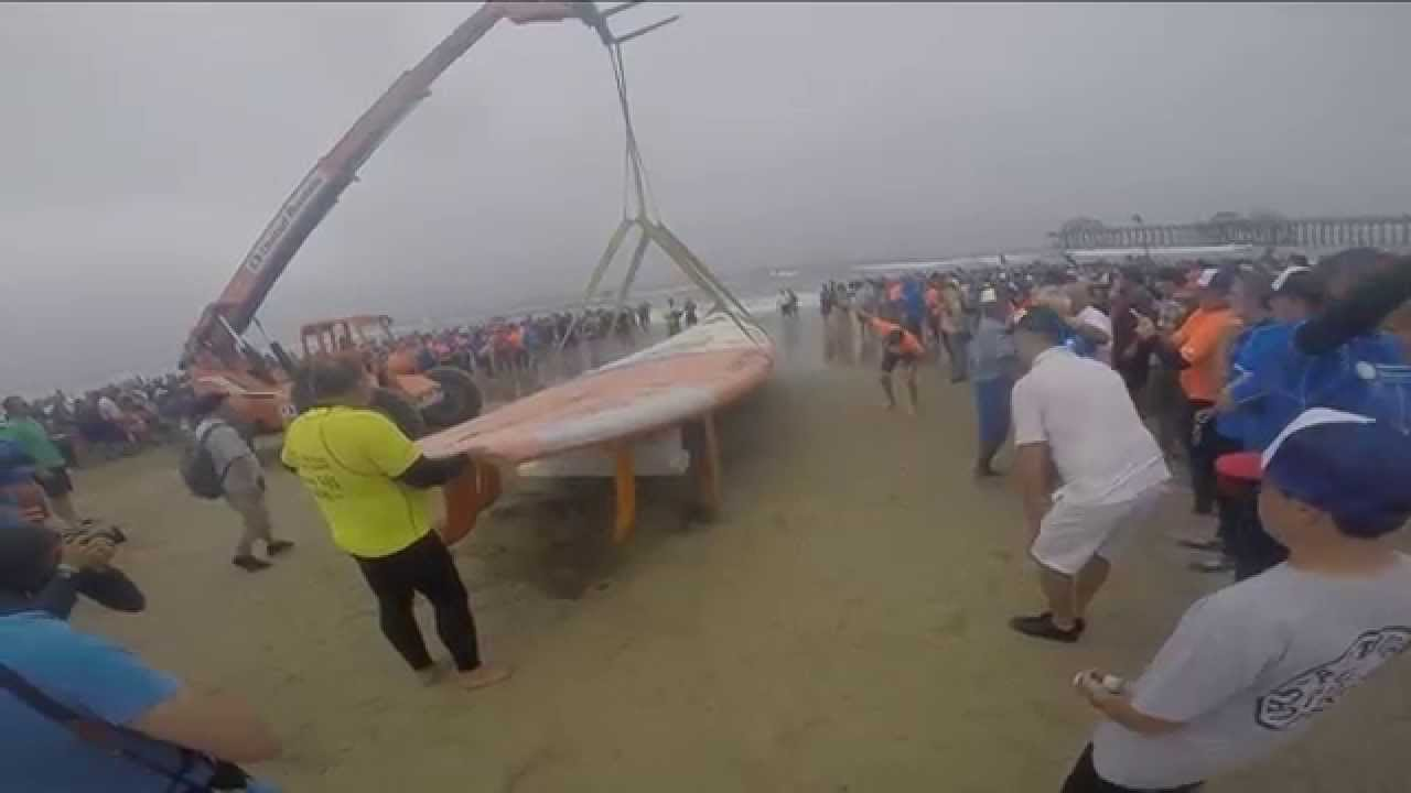 Gest Surfboard In The World Huntington Beach Gopro Of Epic Record Ride