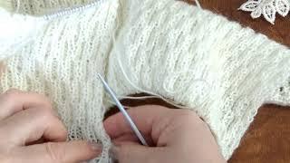 Урок 2. Вязание спицами. Для начинающих.